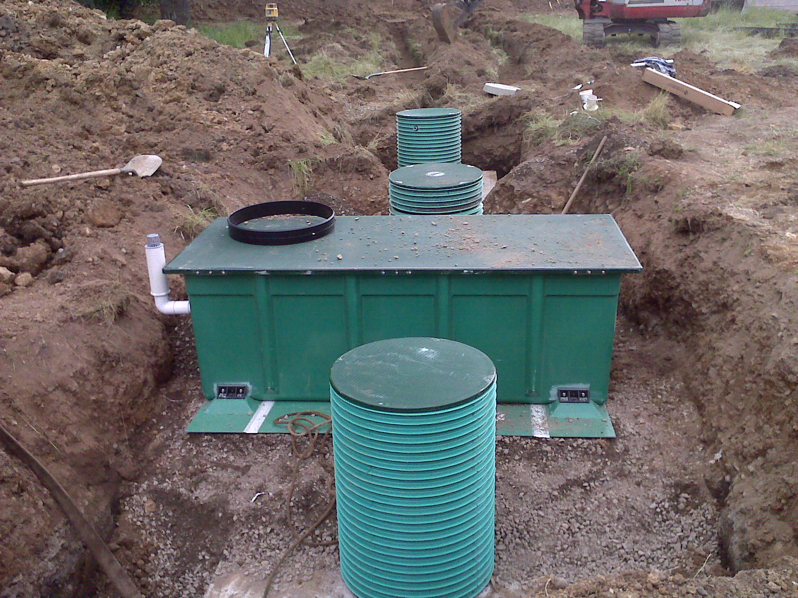 Sanitary Septic Systems Interlaken We Dig Portland