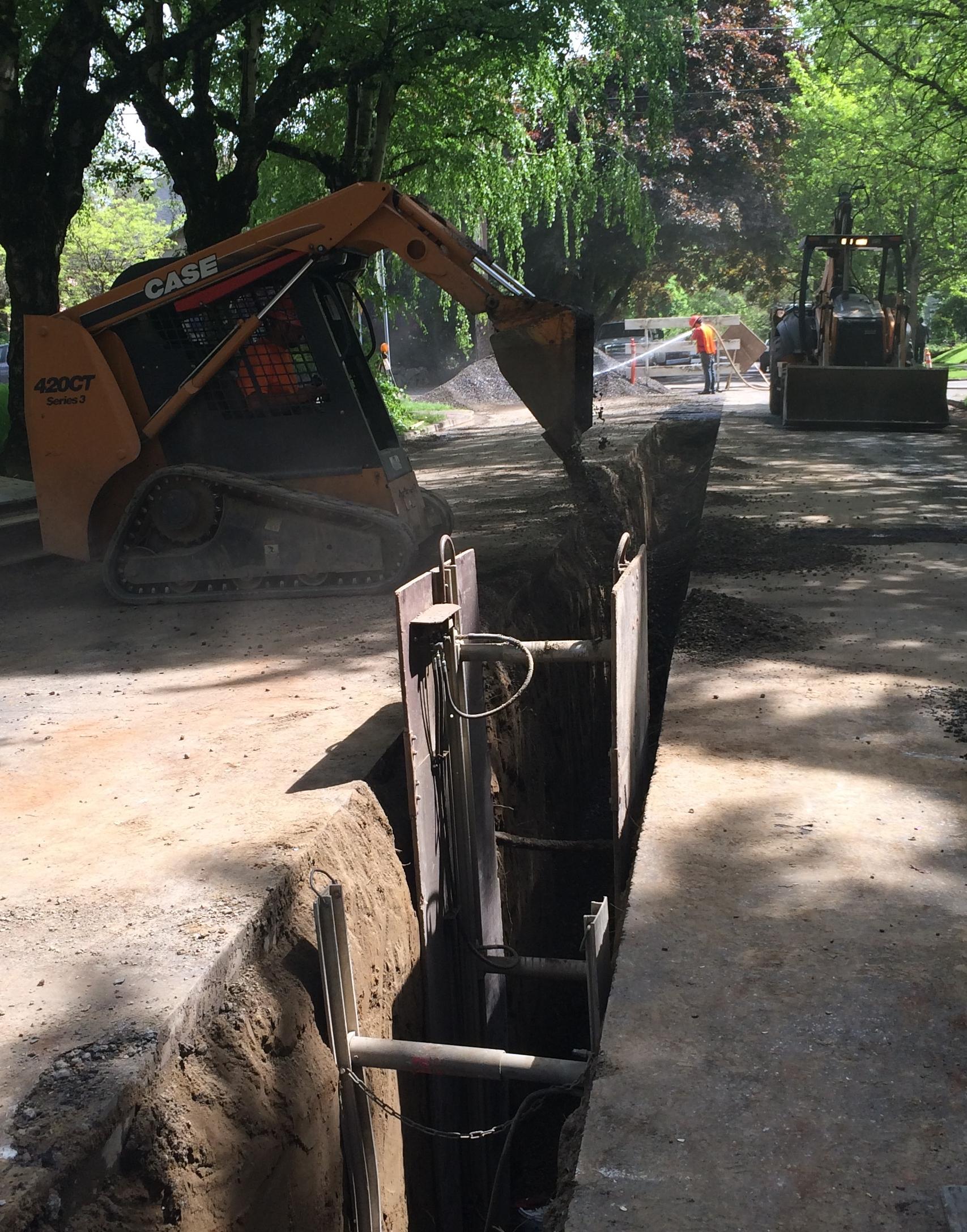 Sewer Mainline Extensions Interlaken Inc